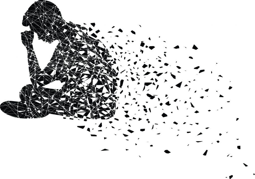 Een overdonderend verlies resulteert in rouw en rouwverwerking.
